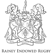 balck crest with rainey endowed rugby