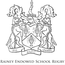 black crest with rainey endowed school rugby