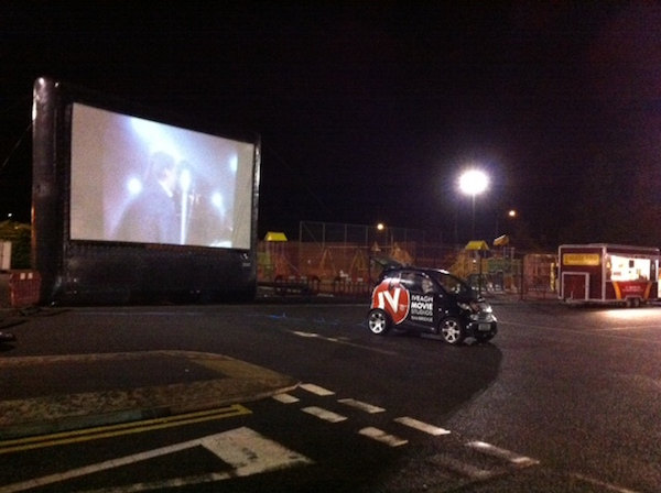 Drive in Movie Carpark 2